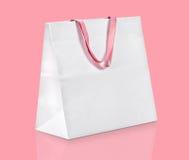 袋子购物白色 免版税库存图片