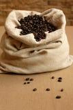 袋子coffe 免版税库存图片