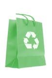 袋子eco购物 库存照片