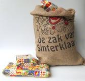 袋子Sinterklaas 库存图片