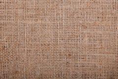 麻袋布样式对象 免版税库存照片