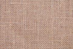 麻袋布纹理 免版税库存照片