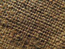 麻袋布表面,背景 免版税库存图片