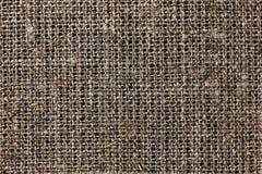 袋装或粗麻布或粗麻布材料,黄麻袋纹理  库存照片