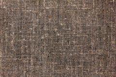 袋装或粗麻布或粗麻布材料,黄麻袋纹理  免版税库存照片