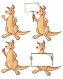 袋鼠动画片 免版税库存照片