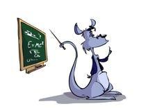 袋鼠教师 向量例证