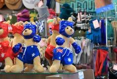 袋鼠被充塞的玩具澳大利亚 库存照片