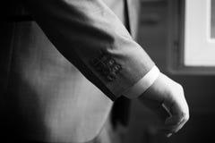 袖子夹克照片 免版税图库摄影