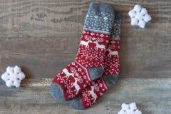袜子温暖 免版税库存图片