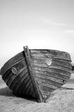 被中断的小船 库存图片