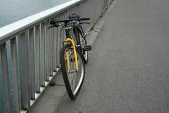 被中断的自行车 免版税库存照片