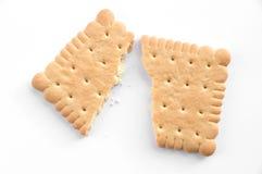 被中断的饼干 图库摄影