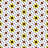 被仿造的无缝的纹理 向量例证