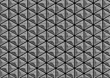 被仿造的3D三角 库存照片