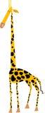 被传统化的长颈鹿 免版税库存图片