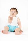 被伸出的婴孩现有量 免版税库存照片
