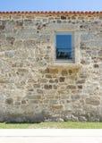 被修理的门面石头 库存照片
