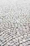 被修补的老街道 免版税库存图片