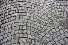 被修补的街道在巴黎,法国 免版税库存图片