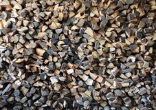 被修造的木柴 免版税库存照片