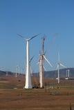 被修造的电子风车 免版税库存照片