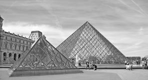 被倒置的金字塔看法  免版税库存图片