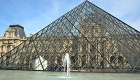 被倒置的金字塔看法  免版税库存照片