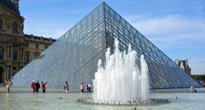 被倒置的金字塔看法  免版税图库摄影