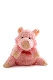 被充塞的小猪粉红色 免版税库存照片