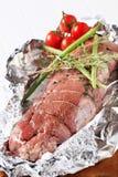 被充塞的肉肉卷 免版税图库摄影