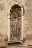 被关闭的威尼斯视窗 库存图片