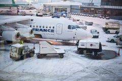 被关闭的机场 免版税库存图片
