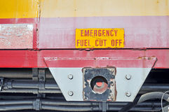 被关闭的燃料 免版税图库摄影