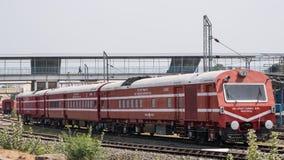 被兼职的印地安服务火车 库存照片