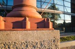被再开发的老都伯林气体工作大楼 免版税库存照片