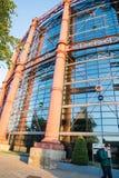 被再开发的老都伯林气体工作大楼 免版税库存图片