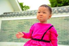 被冤屈的婴孩呼吁 免版税库存图片