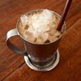 被冰的咖啡 库存照片