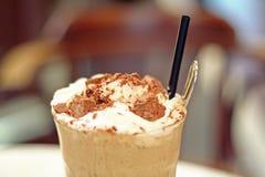 被冰的咖啡 免版税库存图片