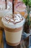 被冰的咖啡 库存图片