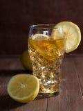 被冰的柠檬茶 免版税图库摄影