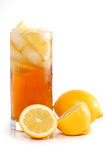 被冰的茶 免版税库存图片