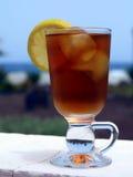 被冰的茶 免版税库存照片