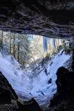 被冰的门户-被放弃的肯塔基联合铁路隧道-肯塔基 库存图片