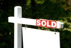 被出售的房子 免版税图库摄影