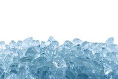被击碎的冰 免版税库存图片