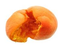 被击碎的桔子 库存照片