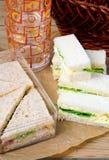 被分类的三明治 库存图片