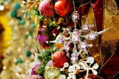 被分类的圣诞节装饰 库存照片